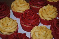 FSU Cupcakes // Florida State // Seminoles // Noles // Garnet & Gold