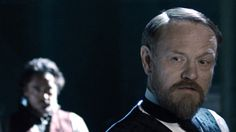 """Jared Harris as Moriarty in """"Sherlock Holmes: A Game of Shadows"""" (with Robert Downey Jr. as Holmes)"""