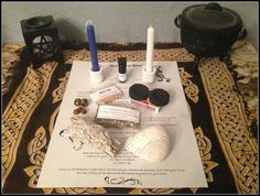 Deluxe HOME BLESSING Spell Kit ~ Wicca ~ Witch ~ Home Blessing Ritual Kit ~ Sage Smudge Stick ~ Protection Herb Mix ~ Candles - Gemstones by SummerlandBB
