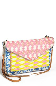 Pretty prints on this Rebecca Minkoff crossbody.
