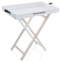 Deri Saplı Beyaz Simitçi Tepsisi tasarımları Table, Furniture, Home Decor, Decoration Home, Room Decor, Tables, Home Furnishings, Home Interior Design, Desk