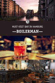 Beste Cocktails, Bar Interior, Location, Movie Posters, Smoking Room, Bartenders, Vacation, Viajes, Film Poster