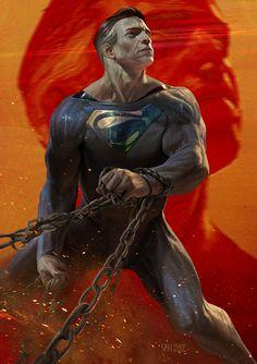 Superman by GeirrodVanDyke on deviantART