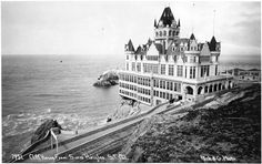 Amazing Private Collection of Photos of Western SF — The Bold Italic — San Francisco Cliff House San Francisco, San Francisco California, Sausalito California, California Dreamin', Bold Italic, Old Photos, Vintage Photos, Historical Photos, Wonderful Places