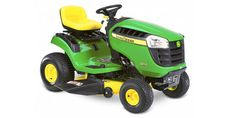 John Deere Automatic Riding Lawn Mower with Briggs & Stratton Engine and Mulching Capability Best Lawn Tractor, Lawn Tractors, Cheap Lawn Mowers, Tractor Photos, Power Take Off, Lawn Service, Riding Lawn Mowers, Thing 1, Cub Cadet