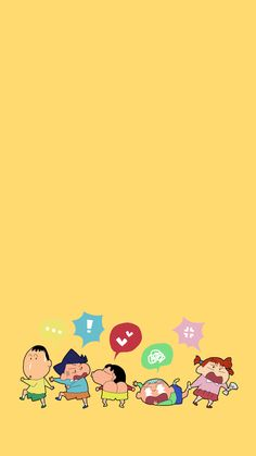 Sinchan Wallpaper, Wallpaper Iphone Cute, Galaxy Wallpaper, Cartoon Wallpaper, Cute Mobile Wallpapers, Tom And Jerry Wallpapers, Sinchan Cartoon, Tom And Jerry Cartoon, Crayon Shin Chan