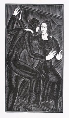 Artist and the Mirror (1932) Eric Gill