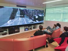 Game Lab with MicroTiles video wall