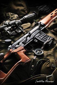 Dragunov SVD Sniper Rifle