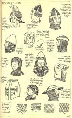 Chapter 8 - European Helmets - Plate 1/2