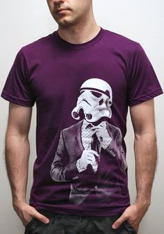 Storm trooper Smarttrooper  Mens t shirt  Star by EngramClothing