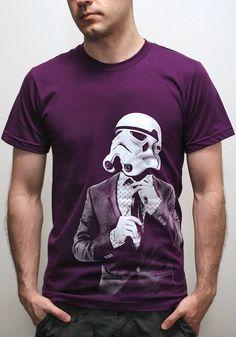 Storm trooper Smarttrooper - Mens t shirt / Unisex t shirt  ( Star Wars / Storm trooper t shirt ) on Etsy, $23.00