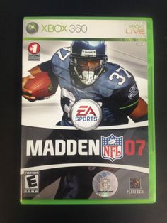 EA Sports NFL Madden 07 (Xbox 360, 2007) SOLD! Was available at Gadgets and Gold in Gainesville, FL!
