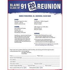 6 Best Class Reunion Invitation Wording Ideas | More Class reunion ...