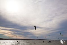 Go Kite Surfing: Our action man knows a thing or two about kite surfing, so we headed up the west coast to Langebaan an easy one-hour drive from Cape T. Marine Reserves, Seaside Towns, Kitesurfing, Cape Town, West Coast, South Africa, African, Clouds, Adventure