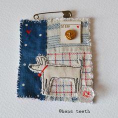 hens teeth : fiber textile brooch pin :: best friend