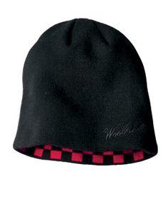 Woolrich Buffalo Check Knit Hat