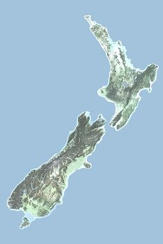 Physical Map Of Asia World Building Map Making Reference - New zealand physical map