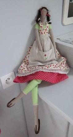 Tilda: La poupée Cerise