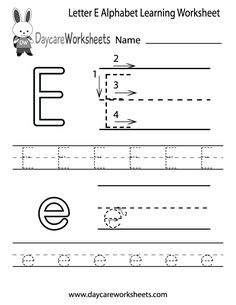 Letter f worksheet for preschool and kindergarten alphabet and preschoolers can color in the letter e and then trace it following the stroke order with this free alphabet worksheet learn the alphabet with printables ibookread ePUb