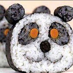 Panda sushi :3