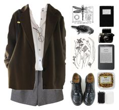 """Untitled #86"" by surgeetage ❤ liked on Polyvore featuring Acne Studios, Dr. Martens, Forever 21 and vintage"