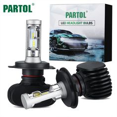 BUY now 4 XMAS n NY. Partol 50W 8000LM H4 H13 H7 H11 9005 9006 Car LED Headlight Bulbs CSP Chips LED Headlights Automobile Headlamp Front Light 6500K -- Just click the image to find out more on  AliExpress.com