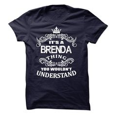 #Funnytshirt... Cool T-shirts  Price :$19.00Purchase Now  Low cost Codes View photographs & photographs of Its A Brenda T-Shirt t-shirts & hoodies:In the event you do not completely love our design, you'll be able to SEARCH your favourite one through the u...