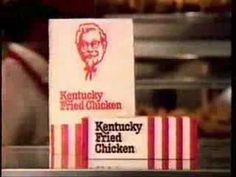 A somewhat disturbing commercial for Kentucky Fried Chicken from the late featuring Foghorn Leghorn of Looney Tunes fame. 80s Food, Retro Food, Retro Ads, Vintage Ads, Kfc, Fast Food Advertising, Tv Theme Songs, Kentucky Fried, Tv Themes