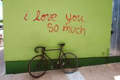 "Artist unknown, ""I love you so much"" – Austin, USA - Flickr @Andreas Kambanis Street Mural, Graffiti Murals, Love You So Much, Jealous, Rest, Neon Signs, America, Monopoly, Buzzfeed"