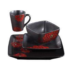 Asiana 16 Piece Dinnerware Set