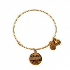 """""""Because I am a girl"""" by Alex and ani"""