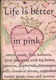 Yes it's true : life is better in #pink