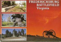 Fredericksburg Battlefield in Fredericksburg, Virginia