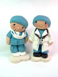 Beeka-poo Doctor figurine / Ornament via Etsy