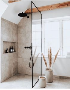 Master bath House Design, Interior, Home, Cheap Home Decor, Industrial Style Bathroom, House Interior, Bathroom Interior, Home Interior Design, Bathroom Decor
