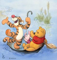 Tigger and Piglet and Pooh