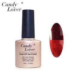 Candy Lover Temperature Color Change Gel Polish Nail Art Soak Off UV/LED Gel Polish Long Lasting Gel Varnish