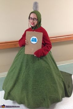 Roz from Monsters Inc. - 2014 Halloween Costume Contest via @costume_works  Some ideas...