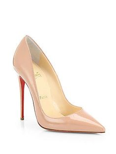MERRY CHRISTMAS TO ME!!!!!!!!!!!!!!! :) Christian Louboutin So Kate 120 Patent Leather Pumps