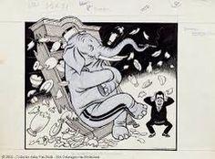 Als een olifant door de porseleinkast -- Zeer ruw en onvoorzichtig.