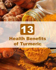 13 Health Benefits of Turmeric - Selfcarers