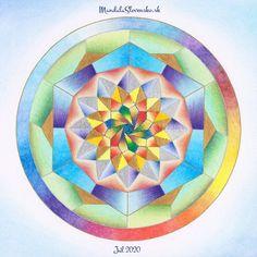 Nastav sa a dovoľ si zažiariť 💚 Pevne dané veci života prinášajú pevný postoj a dávajú priestor na výdych v čase zmien. #mandalaslovensko #mandalaslovakia #handpainted #healingart #sacredgeometry #jul #july #julymandala #breath Breathe, Mandala, Mandalas, Coloring Pages Mandala