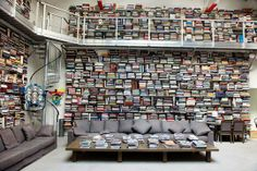 Ten Things You Need to Know about Apartment Therapy — Karl Lagerfeld's home library