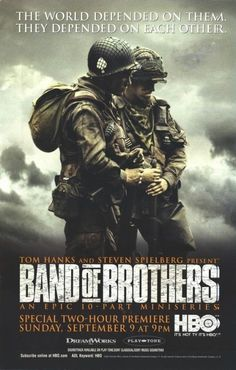 Band of Brothers Movie Poster #2