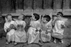 Cristina Garcia Rodero. SPAIN. Morella. 1987. The little angels.