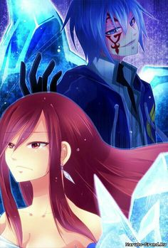 Jellal x Erza Fanfic Fairy Tail, Fairy Tail Anime, Erza Scarlet, Jellal And Erza, Jerza, Fairytail, Fairy Tail Couples, Fairy Tail Ships, Love Fairy