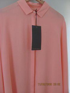 bnwt ginger & smart Secret Vice shirt 100% silk crepe sz 14 $369.00 NEW designer