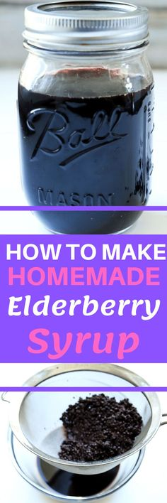 This is a household staple that boosts your immunity and fights seasonal allergies. It's a must have in this time! It's super easy to make at home with dried elderberries and is much cheaper than buying it in the store.