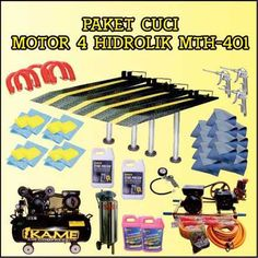 Paket Cuci Motor 4 Hidrolik MTH-401
